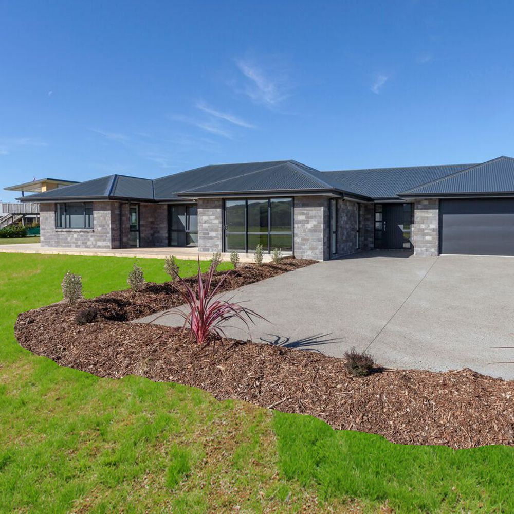 New built house Percival Construction Ltd Whitianga